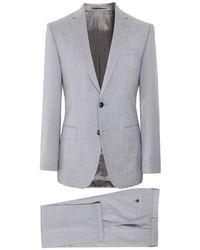 BOSS - Slim Fit Virgin Wool Huge6/Genius5 Suit - Lyst