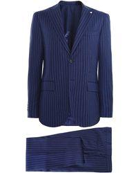 L.B.M. 1911 - Wool Pinstripe Suit - Lyst