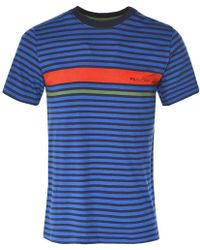 PS by Paul Smith - Regular Fit Striped T-shirt - Lyst