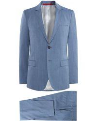 HUGO - Extra Slim Fit Virgin Wool Arti/hesten 182 Suit - Lyst