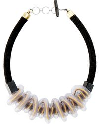 Christina Brampti - Twisted Mesh Necklace - Lyst