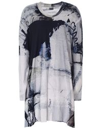 Crea Concept - Abstract Print Jersey Tunic Dress - Lyst