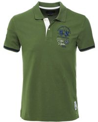 9a525ceb La Martina Argentina Polo Shirt in Gray for Men - Lyst