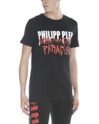 Philipp Plein - T-shirt 'Aloha from fucking paradise' - Lyst