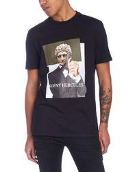 Neil Barrett - T-shirt 'Agent Hercules' - Lyst