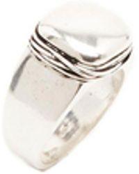 GIACOMOBURRONI - Stone Ring - Lyst