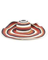 Missoni - Stripes Hat - Lyst