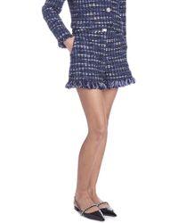 Boutique Moschino - Tweed Short - Lyst