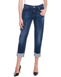 1231564f20264 Lyst - Chimala Selvedge Denim Monroe Cut Jeans in Blue