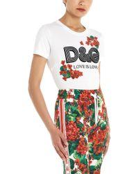 Dolce & Gabbana - T-shirt logo - Lyst