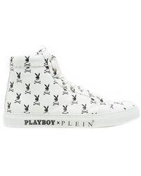 Philipp Plein - 'playboy Skull' Sneakers - Lyst
