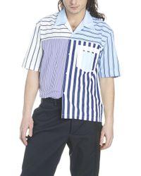 Maison Margiela - Camicia patchwork - Lyst
