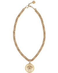 Versace - Medusa Necklace - Lyst