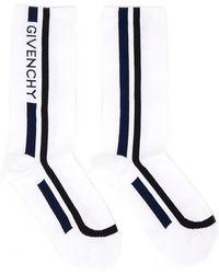 Givenchy - Motocross Biker Cotton Socks - Lyst