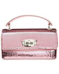 Miu Miu - Sequins Hand Bag - Lyst