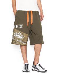 Dolce & Gabbana - Logo Shorts - Lyst