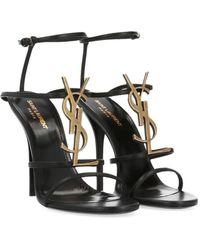 Saint Laurent - 'cassandra' Sandals - Lyst