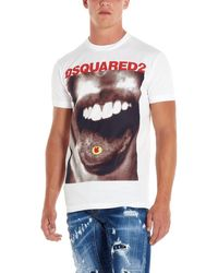 DSquared² - Printed T-shirt - Lyst