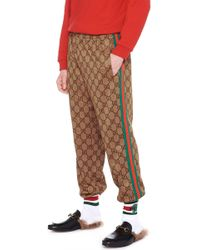 Gucci - Jogging gg all over - Lyst