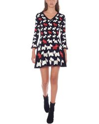 Boutique Moschino - 'scottish' Dress - Lyst