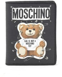 Moschino - Teddy Safety-pin Print Wallet - Lyst
