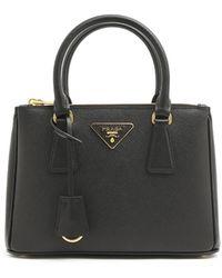 Prada - 'galleria' Hand Bag - Lyst