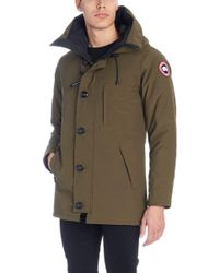 Lyst - Canada Goose Chateau No Fur Parka in Red for Men 7039d44cfea5