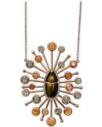 Daniela Villegas - Grow Beetle Necklace - Lyst
