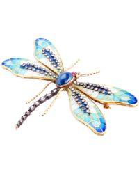 Kirat Young - Dragonfly Brooch - Lyst