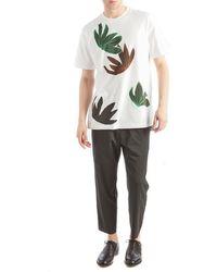 OAMC - Flower Power White T-shirt - Lyst