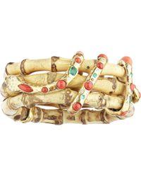 Sylvie Corbelin - Garden Bamboo Emerald Bracelet - Lyst