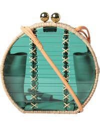 WAIWAI - Jabuticaba Green Rattan Shoulder Bag - Lyst