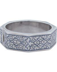 Royal Thai - Thai Octagon Niello Bracelet - Lyst
