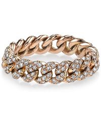 SHAY - Diamond Link Ring - Lyst