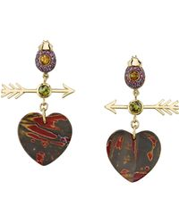 Daniela Villegas - Paro Heart Earrings - Lyst