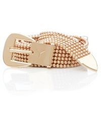 Y. Project - Gold Pearl Belt - Lyst