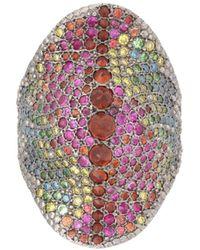 Venyx - Rainbow Red Chameleo Ring - Lyst