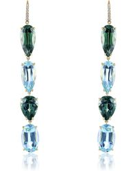 Sidney Garber - Sea And Shore Horizon Earrings - Lyst