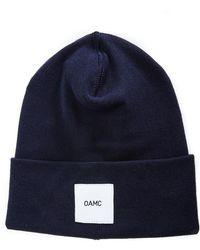OAMC - Watch Cap Blue Beanie - Lyst