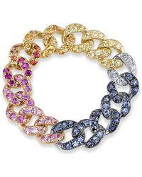 SHAY - Rainbow Link Ring - Lyst