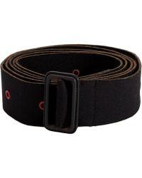 The Row - Dita Black Belt - Lyst