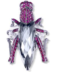 Stephen Webster - Fly By Night Grasshopper Ring - Lyst