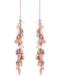 Karen Millen - Charm Drop Earrings - Lyst