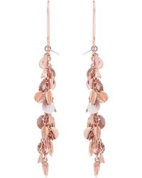 Karen Millen - Sunset Drama Drop Earrings - Lyst