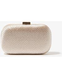 Karen Millen | Embellished Box Clutch | Lyst