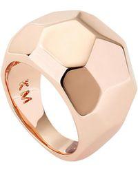 Karen Millen - Geometric Chunky Ring - Lyst