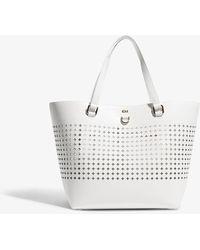 Karen Millen - Perforated Tote Bag - Lyst