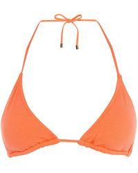 Karen Millen - Triangle Bikini Top - Lyst