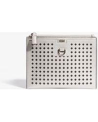 Karen Millen - Perforated Pouch Bag - Lyst