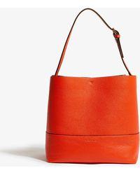Karen Millen - Leather Bucket Bag - Lyst